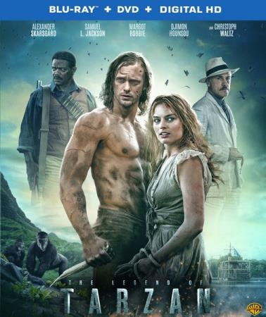 Тарзан. Легенда / The Legend of Tarzan (2016/BDRip/HDRip)