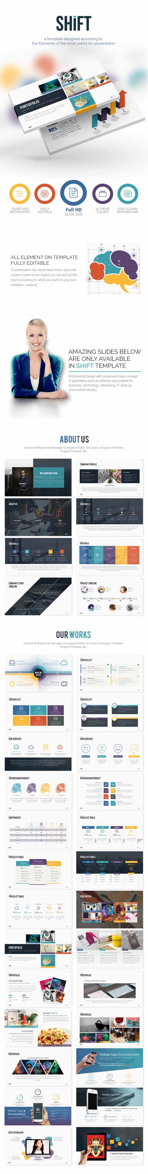 SHIFT Keynote - Multipurpose Keynote Template 14089897