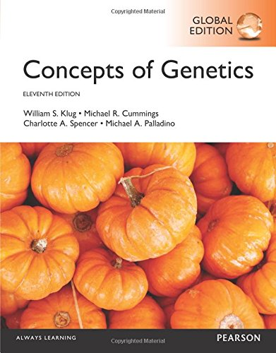 Concepts of Genetics (11th Edition) (Global Edition)