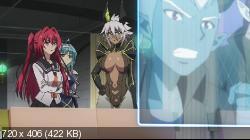 По велению адской сестры [ТВ-2] / Shinmai Maou no Testament Burst [10 из 10] (2015) BDRip | L2