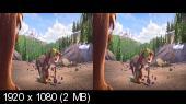 Ледниковый период: Столкновение неизбежно 3D / Ice Age: Collision Course 3D Горизонтальная анаморфная