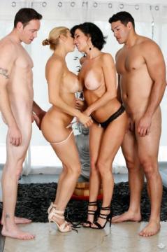 Veronica Avluv, Alexis Fawx, Romeo Price, Tony Martinez - Hotel Room Mishap (2016) FullHD 1080p