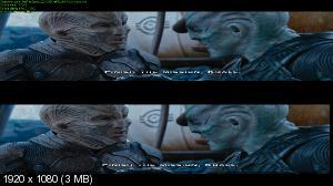 Стартрек: Бесконечность 3D / Star Trek Beyond 3D  ( by Ash61)  Вертикальная анаморфная стереопара