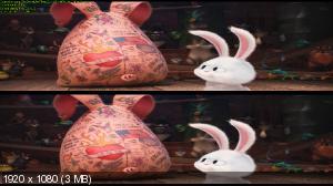 Тайная жизнь домашних животных 3D / The Secret Life of Pets 3D  D  ( Лицензия by Ash61) Вертикальная анаморфная стереопара