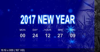 Digital Countdown ScreenSaver 1.0