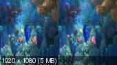В поисках Дори 3D / Finding Dory 3D Горизонтальная анаморфная стереопара
