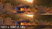 Без черных полос (На весь экран) Кубо. Легенда о самурае 3D / Kubo and the Two Strings 3D Вертикальная анаморфная стереопара