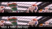 Аисты 3D / Storks 3D Вертикальная анаморфная стереопара